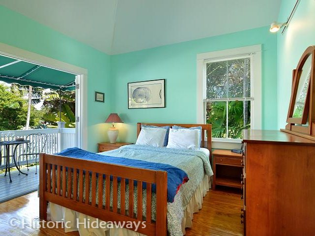 Truman house historic hideaways Master bedroom upstairs or downstairs